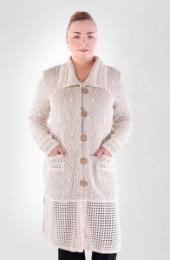 Пальто 011569 (молочный)