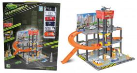 парковка гараж + площадка для вертолета Парковка 3-х уровнев