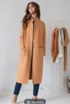 Пальто Модель 18-872-1 кэмел ЮРС      Производитель: ЮРС (