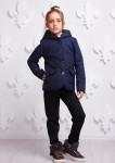 Куртка Женева синяя 000312