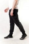 Джоггеры мужские  черный с боковыми карманами