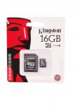 КАРТА ПАМЯТИ KINGSTON 16 GB С АДАПТЕРОМ