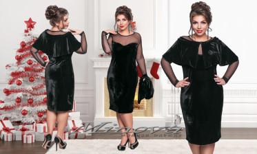 Платье+Болеро №171-черный