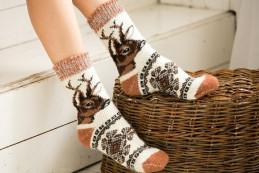 Носки шерстяные N6R152-1