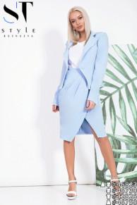 Костюм 46823(пиджак+юбка