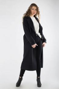 01-9594 Пальто женское демисезонное (пояс)