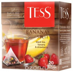 Tess Banana Split 1,8г х 20  пак/пирамидки