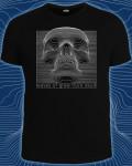 """""""Waves of glow fluro skull (Светится в темноте и ультрафиоле"""