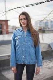 Женская джинсовая куртка Мом 04-017