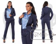 Модель № 9427 -пиджак маломер  на 1 размер