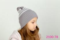 Вязаная шапка-резинка
