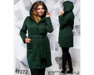 Пальто с капюшоном - 17272