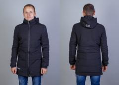 """Куртка Мужская 20002 """"899- Под Парку -69:8N:00"""" Черная"""