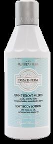 Лосьон для тела с солью Мертвого моря и миндальным маслом