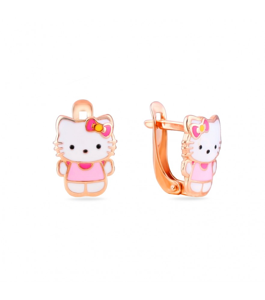 Earring hello kitty