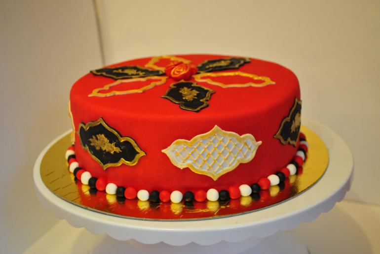 Пристрою тортик Ореховый с карамельным кремом