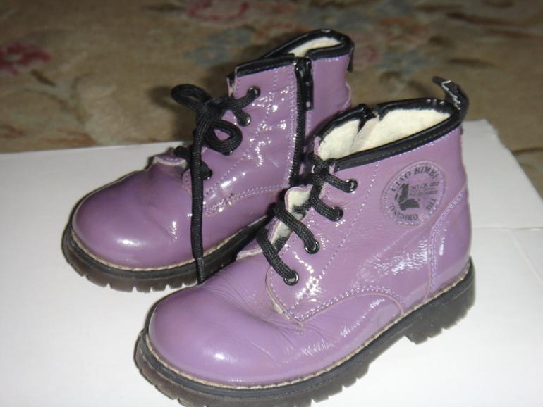 ботинки  зима  CIAO  BIMI  р.25