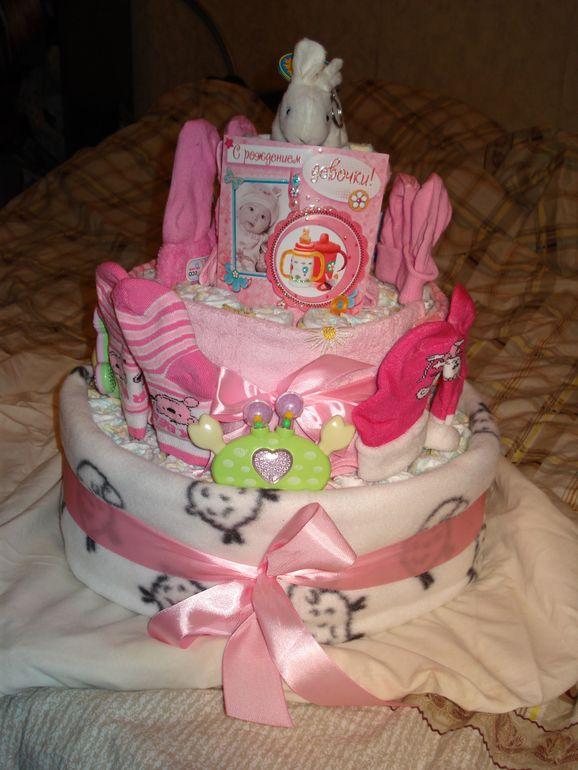 Мой памперсный торт