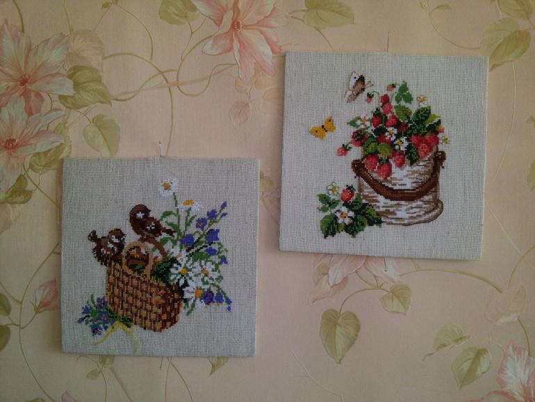Вышивка для шоколадницы