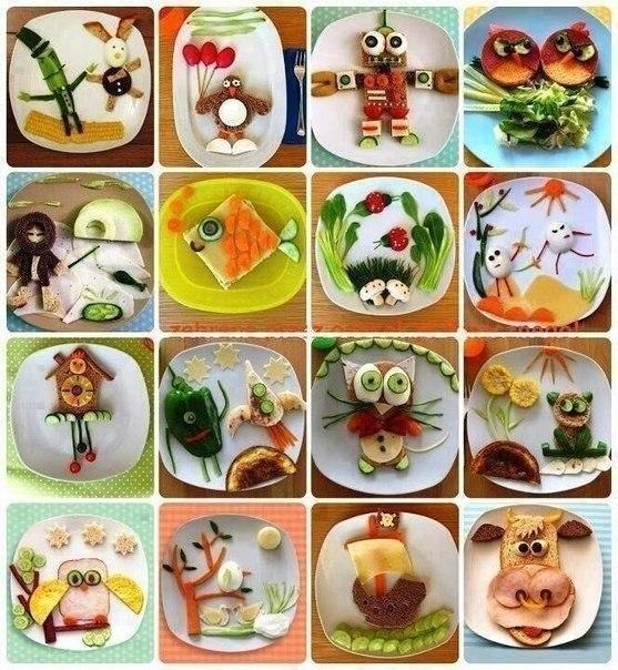 Идеи, как накормить малоешек))) интересно и просто