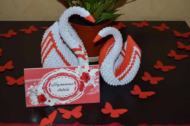 Открытка к бумажной свадьбе 13