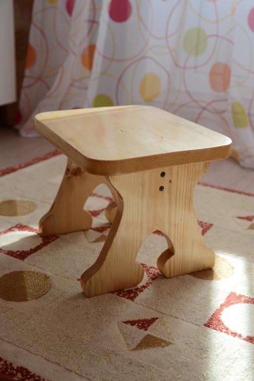 Как сделать детскую табуретку своими руками из дерева