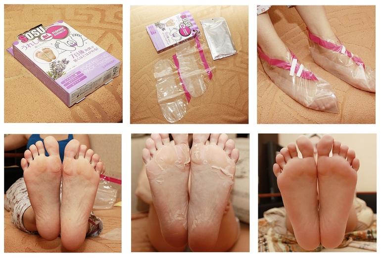 Носочки для педикюра отшелушивающие в подружке