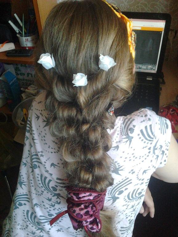 вот наша причёска