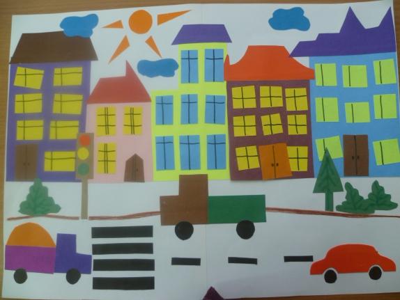Поделки из бумаги по теме город