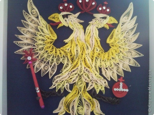 Поделка  герб