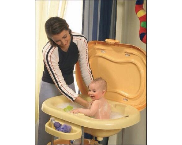 Как помыть ребенка в ванночке