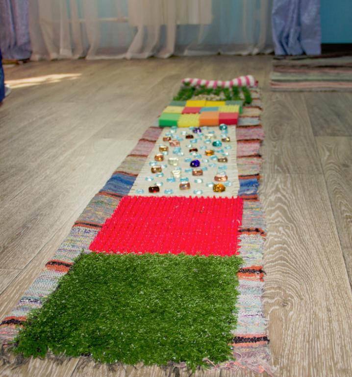 Сделать коврик от плоскостопия своими руками 12