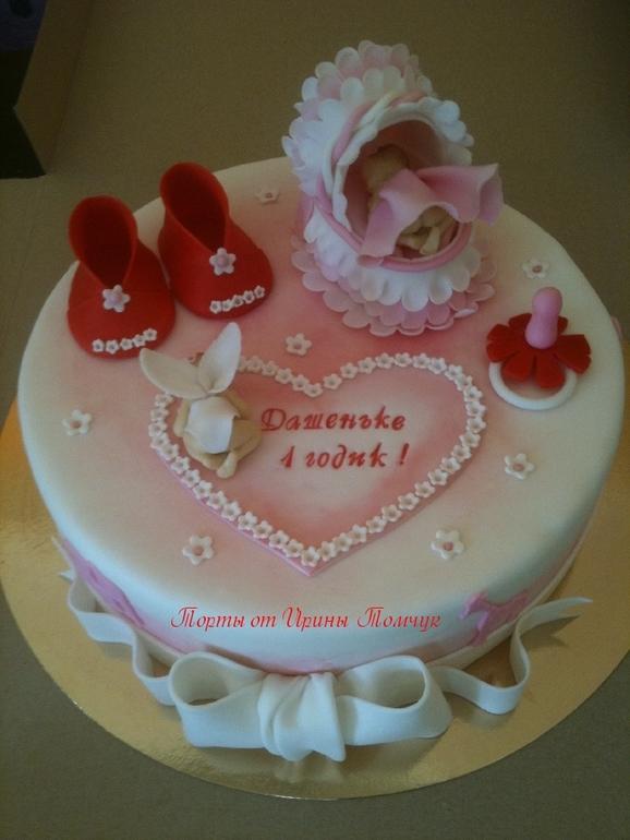 Торт на 1 годик, 4 кг