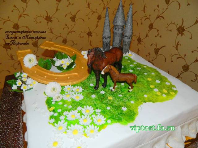 Детские торты объемные животные фото