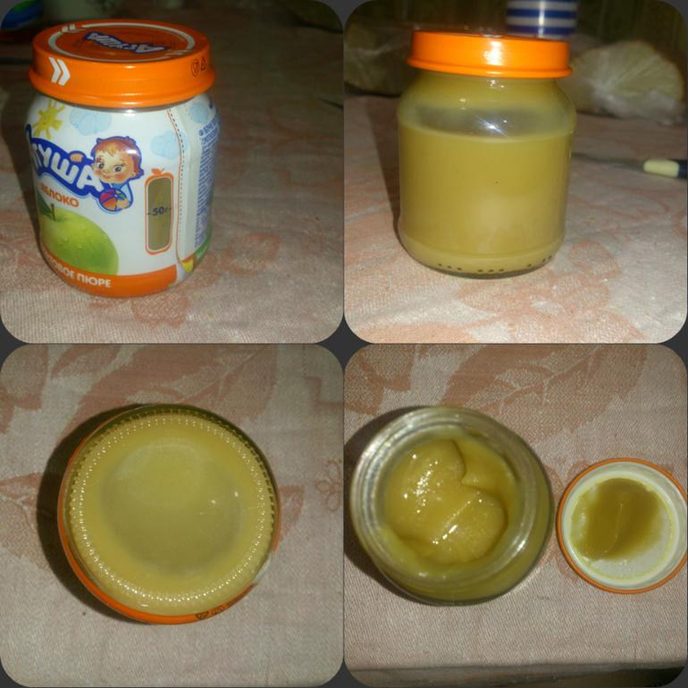 Как сделать яблочное пюре детям
