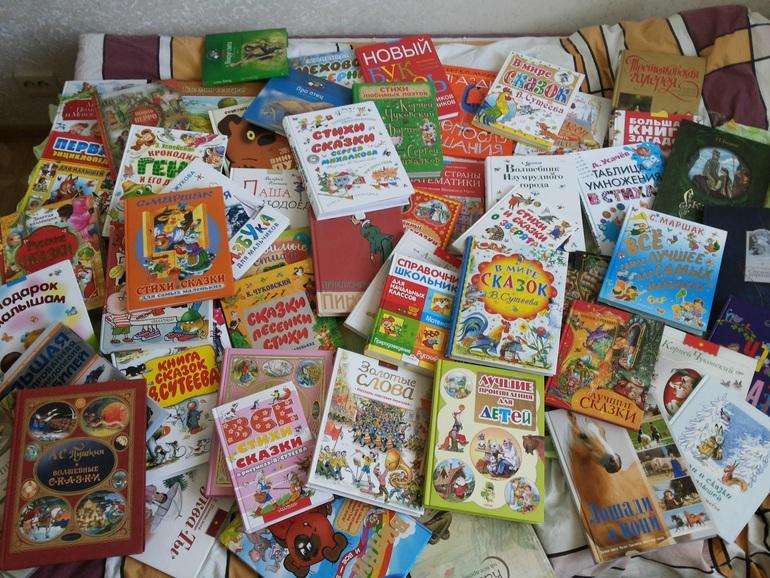Продам за пол-цены новые детские книги.