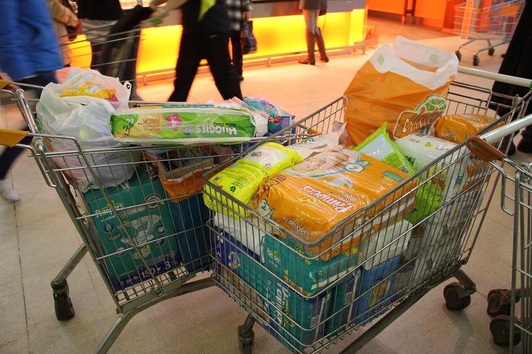 Спасибо участникам акции в гипермаркете