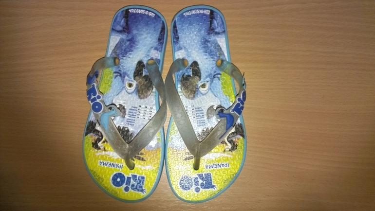 Детская обувь (все сезоны) б.у. 9 пар.