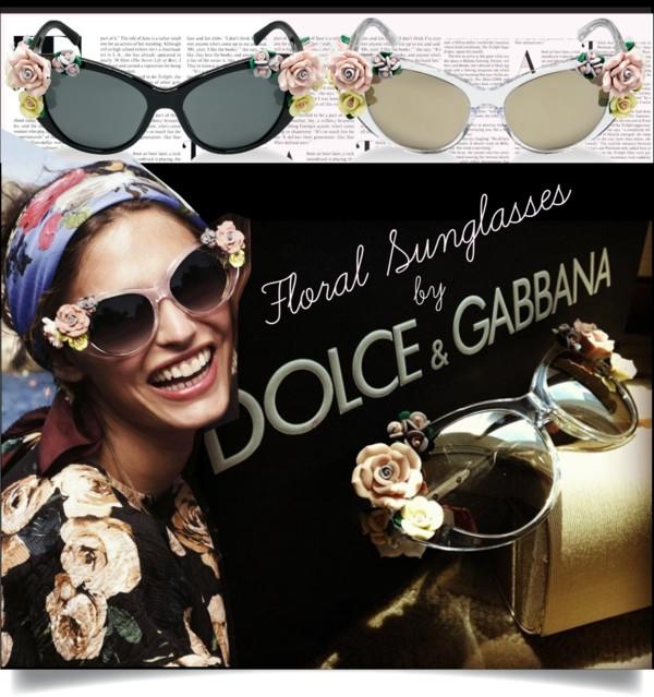 Конфетка Неприкрытая роскошь очков Dolce & Gabbana Flowers-в наличии!