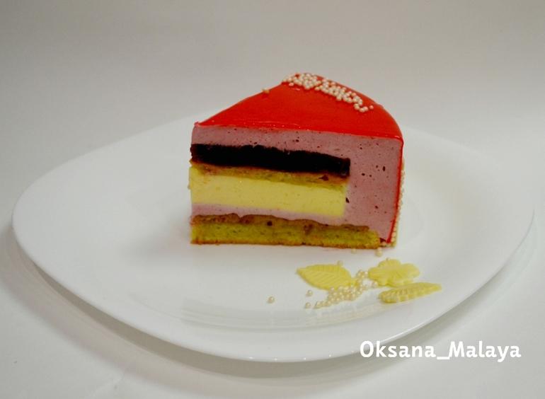 Муссовые торты пошагово