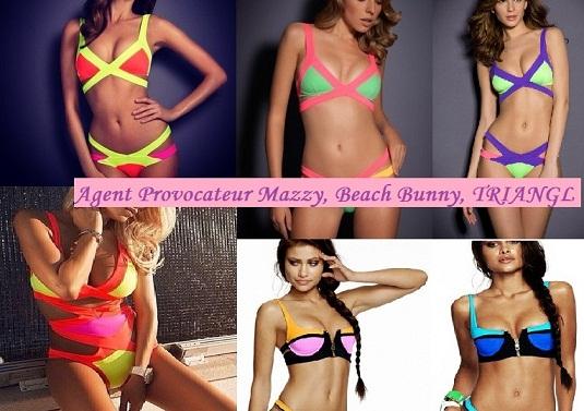 Продам купальники Agent Provocateur размеры S, M яркие цвета