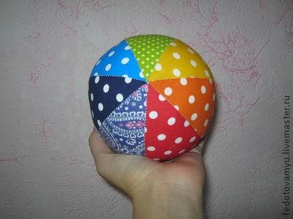 Мягкий мяч для малышей своими руками 99