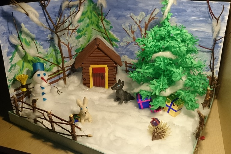 Новогодние поделки в детский сад своими 591