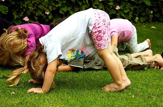 Важность утренней зарядки для детей