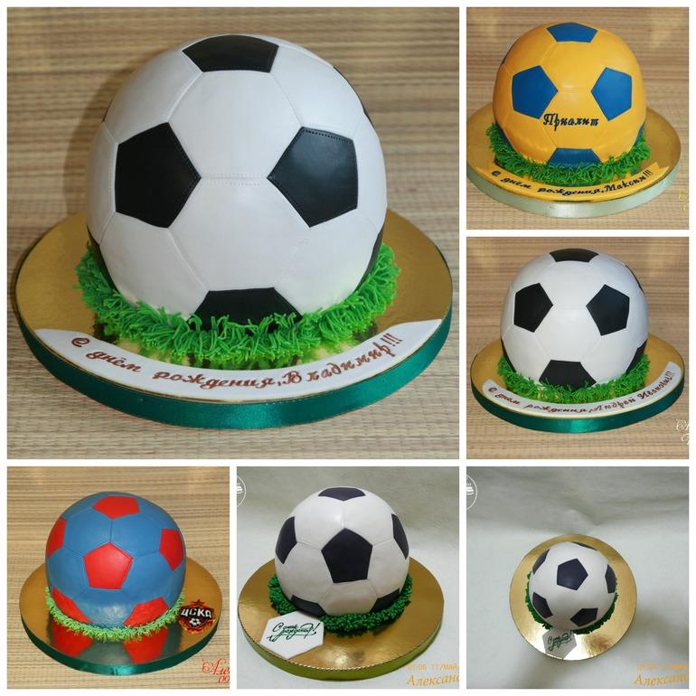 Торт Футбольный мяч Выпечка Готовим с нами 90
