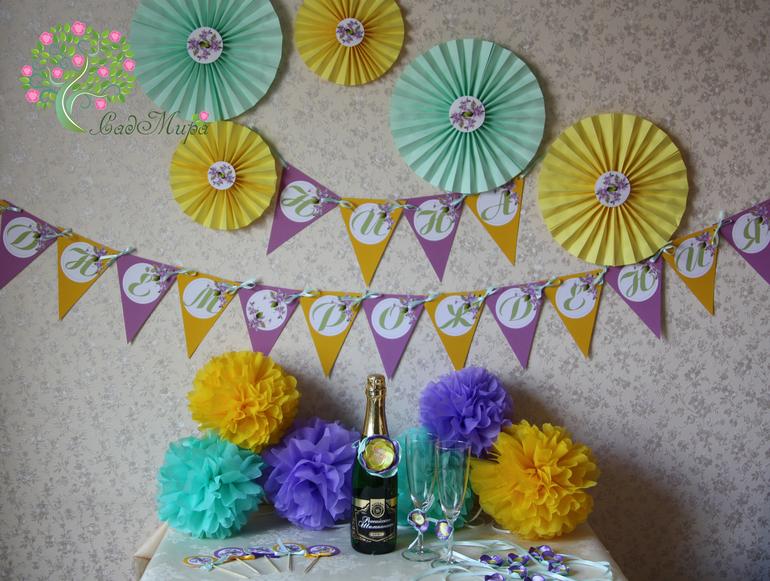 Как можно украсить комнату на день рождения маме своими руками 52