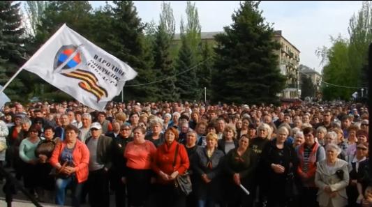 Митинг, после Одессы