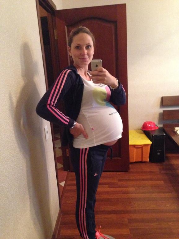 34 недельки ровно)