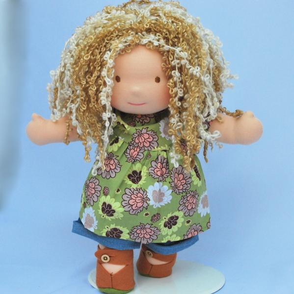 Вальдорфская кукла своими руками фото