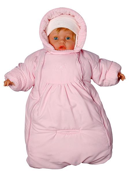 Как сшить зимние комбинезоны для новорожденных